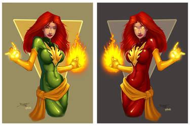 Phoenix ala Dark n Bright by rantz