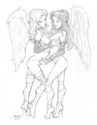 Sketch Lil Angels by rantz