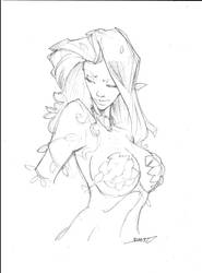 Sketch Poison Ivy by rantz