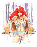 Red Sonja by rantz