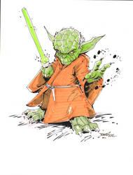 Yoda by rantz