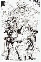 Danger Girls 11x17 by rantz