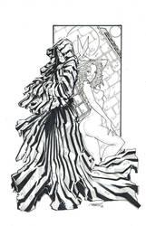 Cloak and Dagger BW by rantz
