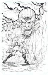 Attack on Titan inks by rantz