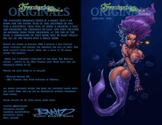Fantazies Originals Cover Book One by rantz