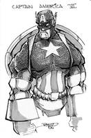 Captain America by rantz