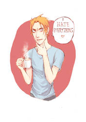 I Hate Everything Fanart by Suuno