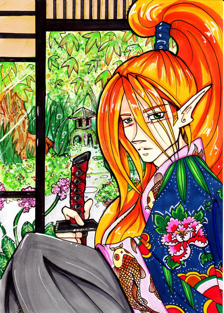 Samurai Splic by Jessabel