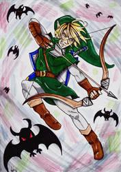 Link in action - Linktober! by Jessabel