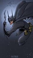 BATMAN by drazebot