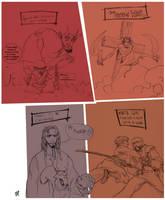sketchnight pencils by drazebot