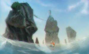 boat going away by drazebot