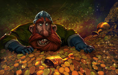 pocket treasure by drazebot