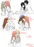 look at all these kisses pt. 1 by hyunnhie