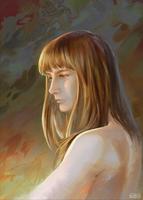 Portrait practicing by froxalt