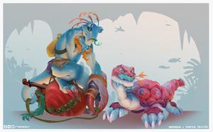 Concept artist challenge RPG4 - 6+7/15 by froxalt