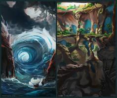 Concept artist challenge RPG4 - 05+10/15 by froxalt