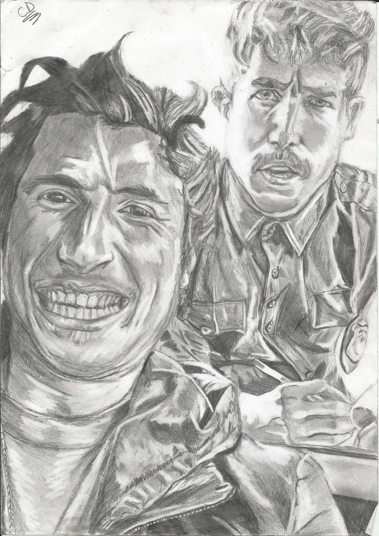 Brandon Calvillo and Luke Flipp in Driving Selfies by KJZombieKiller