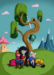 Adventure Time: You and I will always be back then by GuyverSnake