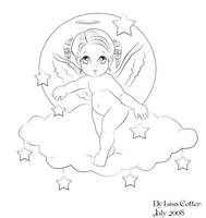 My first line art by Heartsdesire-fantasy