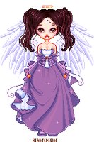 Angel for a contest by Heartsdesire-fantasy