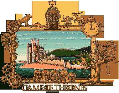 Game Thrones Pixel Heartsdesire Fantasy 2017 by Heartsdesire-fantasy