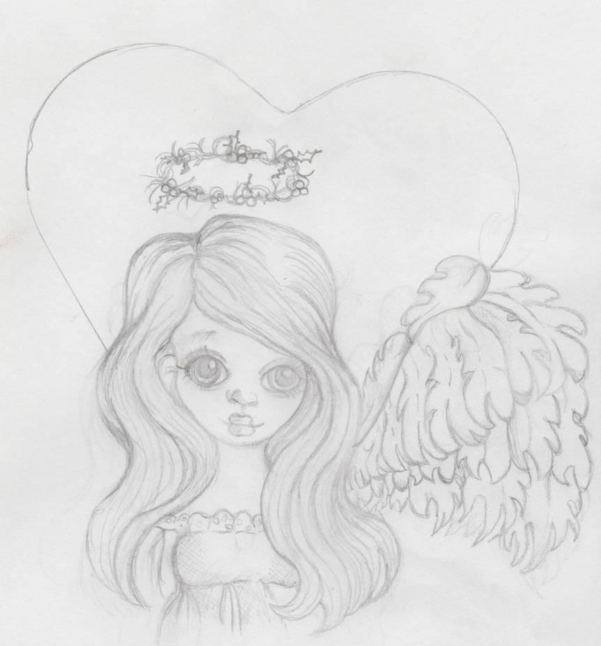 Christmas Angel 2017 By Heartsdesire Fantasy by Heartsdesire-fantasy