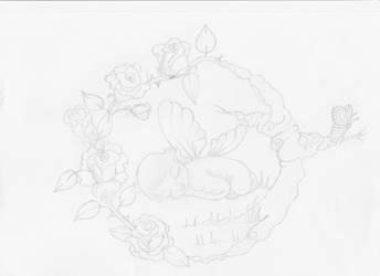 Baby rose fairy by Heartsdesire-fantasy