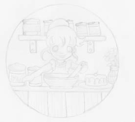 Baking with Cassie by Heartsdesire-fantasy