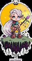Druid Scene Heartsdesire Fantasy 2017 by Heartsdesire-fantasy