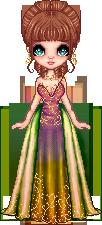 Harmony Aura woodland haute couture by Heartsdesire-fantasy