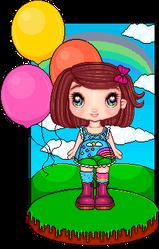 Rainbow cuteness overload ! by Heartsdesire-fantasy