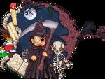 Pixel necro portrait by Heartsdesire-fantasy