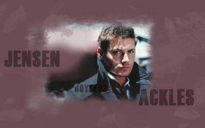 Jensen Ackles Desk 2 by SaraC935