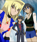 Yusei, Tea and Keisa by mana24x7