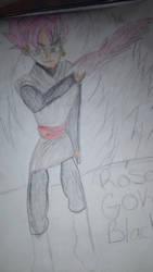 Goku black drawing by KAynizo