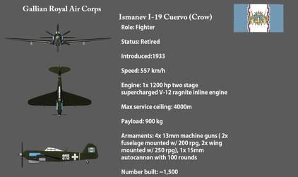 Gallian monoplane fighter by larrynguyen0096
