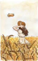 3- Sky and Field by Eilerinn