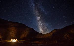 Bonfire under the Stars by Hauns