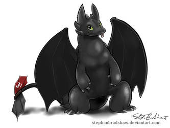 Toothless by stephanbradshaw