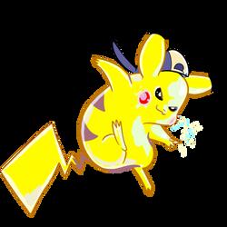 Yellow Pikachu by stephanbradshaw