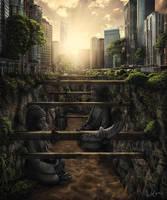 Buddha ke bandhana by Wolves-PSD