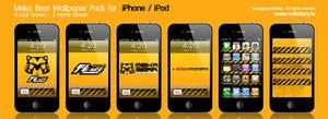 MekaBear Wallpaper iPhone iPod by minitary
