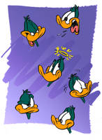 emotions of Plucky by JuneDuck21