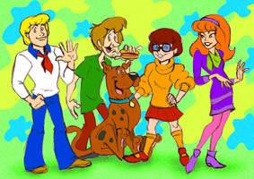 Scooby-Doo team by JuneDuck21