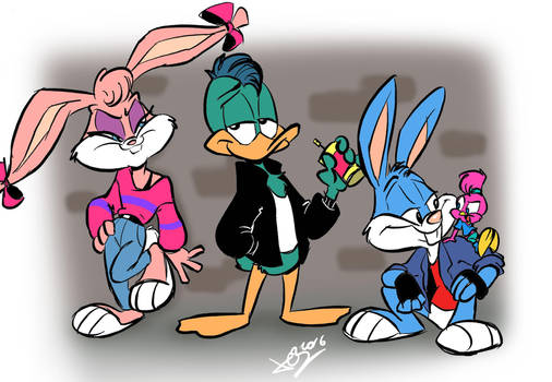 Really cool toons by JuneDuck21