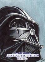 Star Wars GF S2 - Darth Vader Sketch Art Card 1 by DenaeFrazierStudios