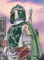 Star Wars GF S2 - Boba Fett Return Card 1 by DenaeFrazierStudios