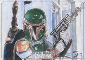 Star Wars Illustrated: TESB - Boba Fett by DenaeFrazierStudios