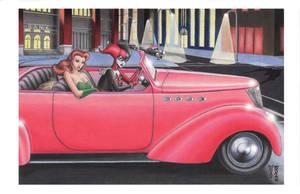 The Getaway Car by DenaeFrazierStudios